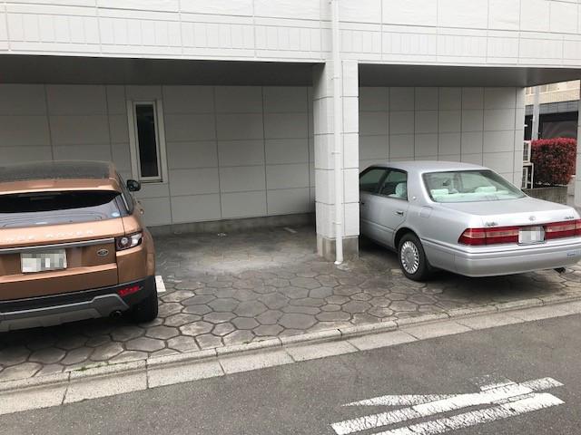 駐車場【メゾンサンスイ】