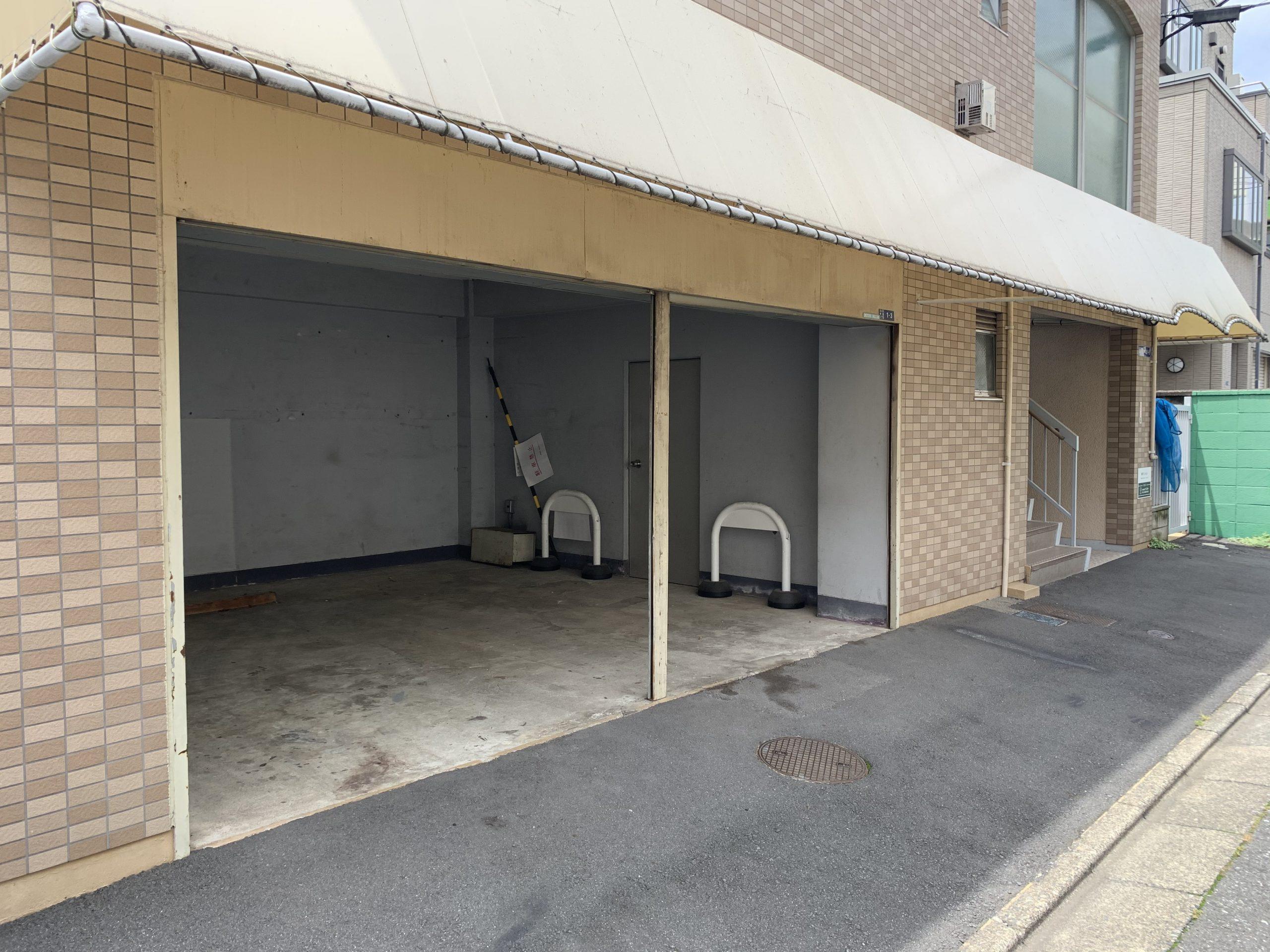 鶴マンション駐車場